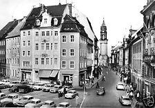 AK, Bautzen, Blick durch die Reichenstr. zum Reichenturm, belebt, 1973