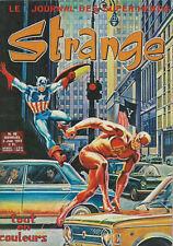 RARISSIME EO 5 JUIN 1973 STAN LEE + REVUE STRANGE N° 42 (  SUPERBE ÉTAT  )