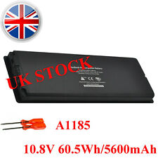 "Black Laptop Battery For Apple Macbook 13"" inch A1185 A1181 MA561 MA566 MA255*/A"