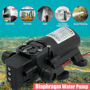 130PSI High Pressure Water Pump DC 12V MaX Self-Priming Automatic Switch 70W NEW