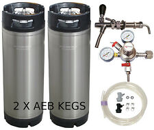 AEB PRO KEGGING KIT- MICROMATIC REGULATOR HOME BREW BEER KEG SYSTEM KEGERATOR