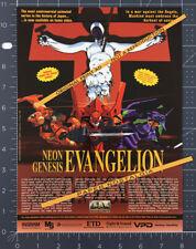 NEON GENESIS EVANGELION__Original 1997 Trade print AD / TV series video promo ad