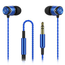 SoundMAGIC E10 In Ear Isolating Earphones - Black & Blue - NEW