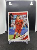 Kevin De Bruyne 2018-19 Panini Donruss Soccer Base #101 Belgium
