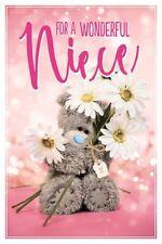 For a Wonderful NIECE Medium  Photo Finish Tatty Teddy Me to You Birthday Card