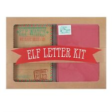 Elf Letter Kit Santa Watch Report Cards Envelopes Kids Children Father Christmas