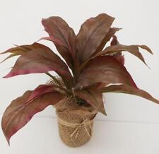 SMALL PINK/RED CORDYLINE ARTIFICIAL INDOOR HOUSE PLANT FREE POST