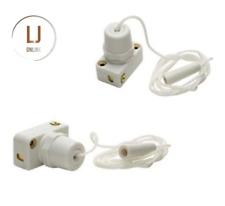 Jeanie 702 Miniature Pull cord Mini Wall Switch Shower Light 2 Amp 240 Volts New