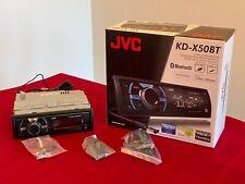 JVC KD-X50BT Single DIN Digital Media Receiver for your car!