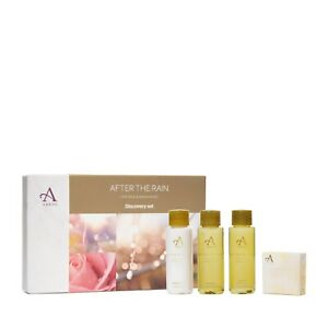 Arran Aromatics After The Rain Lime, Rose and Sandalwood Discovery Set