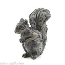 "Sue Maclaurin ""Squirrel Maquette"" Solid Bronze Sculpture by Nelson & Forbes"