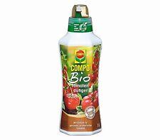 Compo Bio Tomatendünger Tomaten Für aromatische und gesunde Tomaten  1 Liter