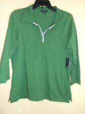 NAUTICA Ladies Green w/ White Top Size Large / NWT