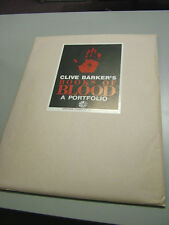 Clive Barker's Books of Blood-- Portfolio  -- #260 of 1,000 -- Scarce
