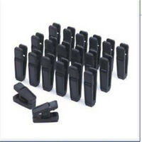 Pack of 20pcs Non-slip Plastic Clothes Pegs Spring Loaded Peg For Washing Line