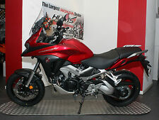 NEW 2017 Honda VFR800X Crossrunner ABS. Candy Red. £10,739 On The Road
