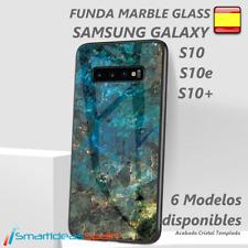 Case Glass Samsung Galaxy S10/S10E/S10 + Cover Tempered Glass TPU Bumper