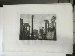 Raccolta delle principali vedute Roma Antica Moderna ALESSANDRO MOSCHETTI 1843