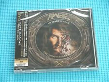 RAGE 2CD 10 Years In Rage w/Bonus Track 2020 Japan NEW GQCS-80831/2 OBI