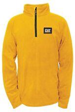 Caterpillar hombre Concord Fleece Pullover blusa ropa mangas largas casual amarillo XXL