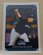 John Holdzkom 2018/19 Australian Baseball League Trading Card Pittsburgh Pirates