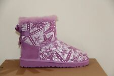 Ugg Australia Kids Mini Bailey Bow Starfish  boots  Size 1 NIB