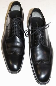 TOM FORD BLACK OXFORD SHOES  sz 11 1/2  Made in Italy