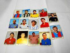 CAMPIONI dello SPORT 1966 1967 panini 14 figurine diverse calciatori