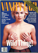 Vanity Fair Magazine 1993 Nude Sharon Stone Cover 21 Year Old Yves Saint Laurent