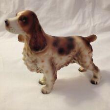 Vintage Lefton Cocker Spaniel Dog Figurine # H7328 Excellent Condition