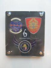 Resident Evil 6 Forces Emblems - Rare Collectors Item - New & Sealed - Free Post