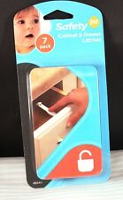 New 7pk Safety-1st Child Safety Cabinet & Drawer Latches #48444 Nip