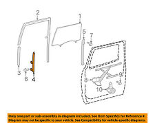 TOYOTA OEM 07-17 Tundra Glass-Rear Door-Front Guide Right 674050C010