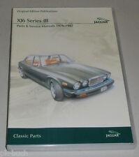 DVD Werkstatthandbuch + Teilekatalog Manual Parts Jaguar XJ6 III 1979 - 1987