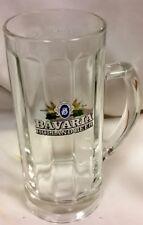 VB7 BAVARIA BEER GLASS BAR GLASSES 1 HOLLAND MUG BIG IMPORTED BREWERY GLASSWARE