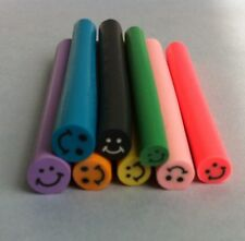 8 tiges batons cane fimo Bijoux 3D Ongles nail smiley  +lame