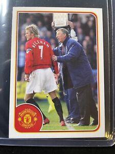 David Beckham - 2011 Manchester United Sticker Collection