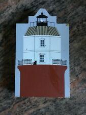 Cats Meow Village Lighthouse 1993 Baltimore Light Chesapeake Bay Magothy River
