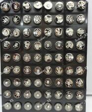 72pcs Stainless Steel Czech Rhinestone Stud Earrings Wholesale Jewelry Top