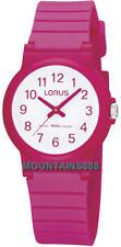 RRX13DX-9, LORUS Watch, Pink, Water Resistance 100M, Girls