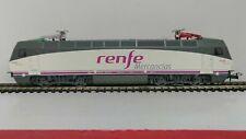 ELECTROTREN E2524 252-017-9  RENFE Mercancias bianco/grigio fasce fucsia, tetto