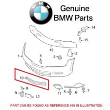 NEW BMW E36 Z3 97-02 Front Center Bumper Cover Grille Black GENUINE 51118399335