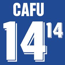 Brazil Cafu Nameset 1994 Shirt Soccer Number Letter Heat Print Football Away