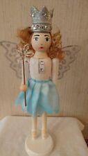 Ballerina Shabby Silver Nutcracker Sugar Plum Fairy  Princess Lady Girl