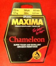 Maxima Fishing Line One Shot Spool, Chameleon, 35-Pound/250-Yard Premium Mono
