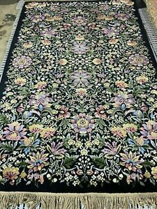 Karastan Flower Garden Area Rug 509/9200 5.9 x 9 Garden of Eden Collection