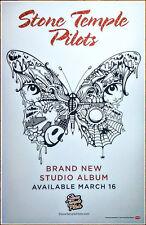 Stone Temple Pilots S/T Ltd Ed New Rare Tour Litho Poster +Free Rock Poster! Stp