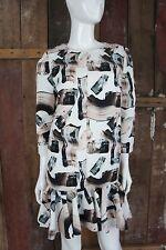 H&m * abito * eccentrico particolarmente Moda/Fashion * grafico modello * Taglia 36