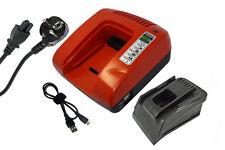 Chargeur pour Hilti AG 125-A22, HDE 500-A22, SCM 22-A, Garantie D'un An