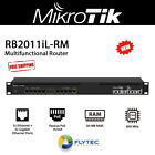 Mikrotik RB2011iL-RM 10 Port Router w/ PoE out on Port 10 and 1U Rackmount